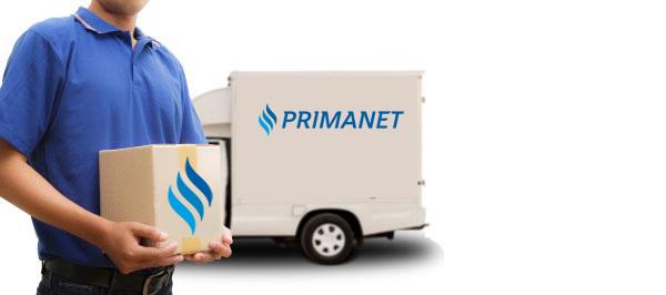 92c152f73a A PrimaNet-en rendelt áruk vételárát utánvétel választásakor a kiérkező  futárnak kell kifizetni.